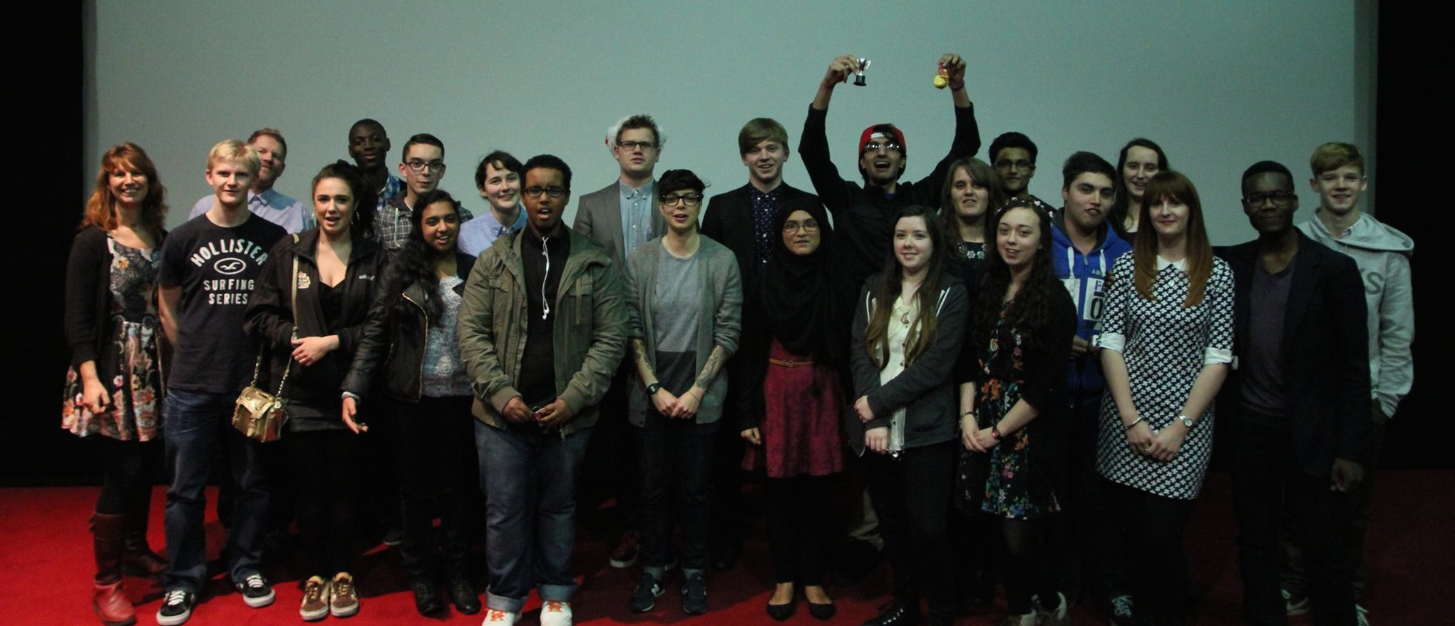 BFI students at Film Premier