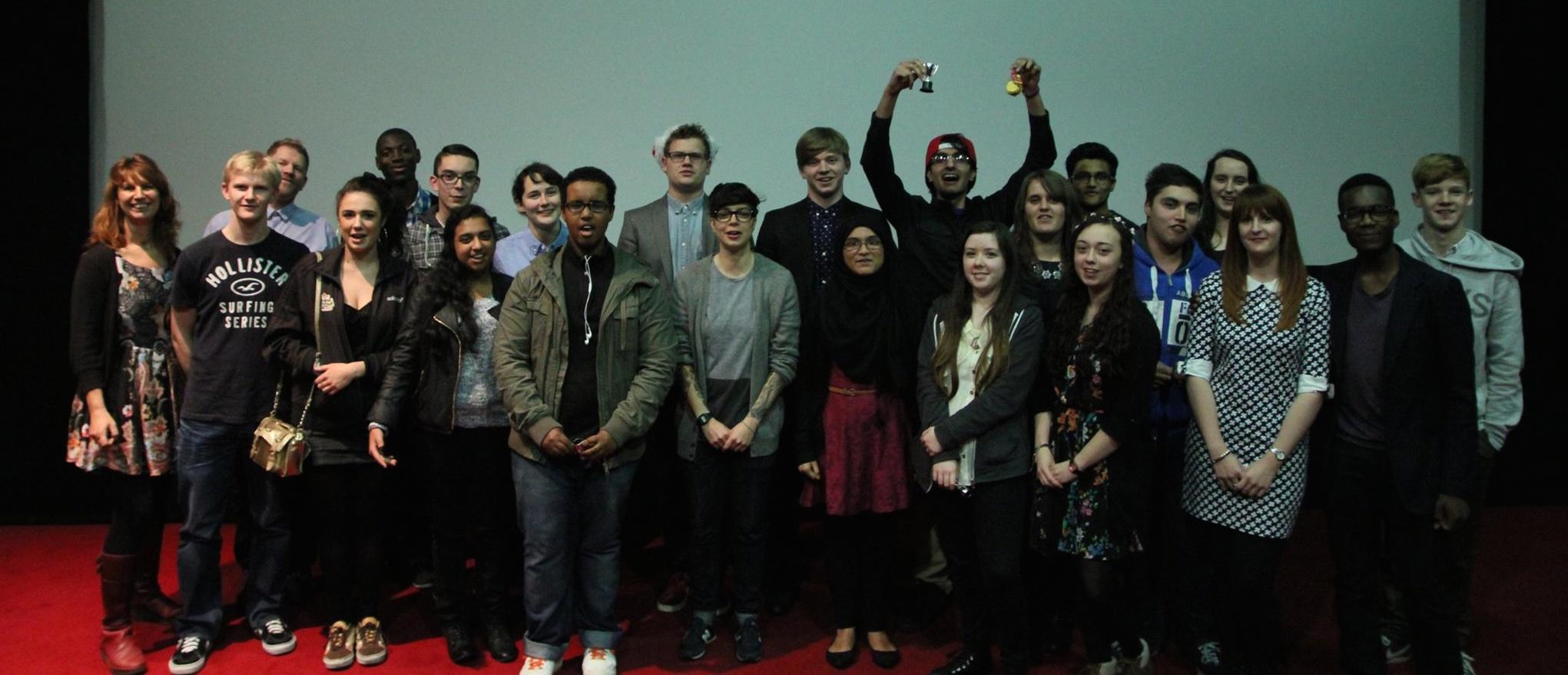 BFI students at Film Premier